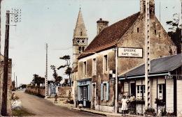 CPSM - 14 - COLLEVILLE - Hameau De L'église - Le Bar Tabac - 1512 - Frankreich
