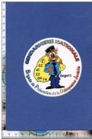 Autocollant - Gendarmerie - Brigade De Prévention De La Délinquance Juvénile - BPDJ ANGERS - Gendy - Gendarme - Sticker - Stickers