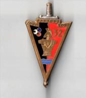 INSIGNE 32° RG, REGIMENT DU GENIE , PARTOUT POUR TOUS  -   DRAGO PARIS G 2134 - Landmacht