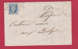 LETTRE DEPART PARIS  //  ETOILE MUETTE  //  13 AVRIL  1853 - 1849-1876: Classic Period