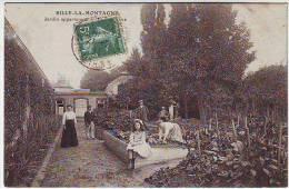 51. RILLY LA MONTAGNE . JARDIN APPARTENANT A...... . BELLE ANIMATION. Editions A. JOBERT - Rilly-la-Montagne