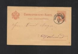 Austria Ukraine Stationery Koloyja 1879 - Ukraine