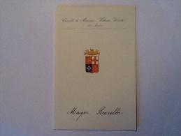 MENU' CIRCOLO MARINA LA SPEZIA  DEL 15 GIUGNO 1959  FAM. GEN PECORELLA - Documenti