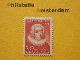 Greenland 1958, HANS EGEDE: Mi 42, ** - Ongebruikt