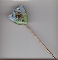 AUSTRALIA NEW SOUTH WALES : WESTON CREEK  BOWLING CLUB  Pin Badge:  Metal + Plastic Coated  Print - Pétanque