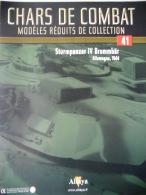 REVUE CHARS DE COMBAT  ALTAYA N° 41 - CHAR STURMPANZER IV BRUMMBAR ALLEMAGNE - 1944 - Auto/Motor