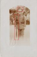 Photocarte Allemande-Soldat Allemand Casque A Pointe Fusil Baïonnette Paquettage Pose Photo1915-DESSAU(guerre14-18)2scan - Weltkrieg 1914-18