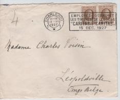 00656a Charleroi 1927 C. Méc. TP Houyoux V. Congo Belge Léo. C. Arrvée - 1922-1927 Houyoux