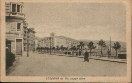 SALERNO DA VIA LUNGO MARE VG. 1933 - Salerno