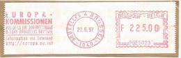 A1 Belgium 1997. Machine Stamp Cut Fragment ATM Label Internet Http:// - Informática