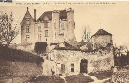 Indre Et Loire : Preuilly Sur Claise, Chateau Du Lion, Reconstruit Sur Les Ruines De La Forteresse - Frankreich