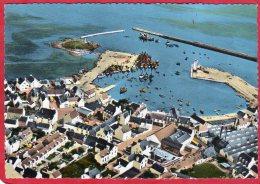 CPSM 29 LESCONIL T Ed Jean  4 ( Vue Aérienne Port  )  Canton De GUILVINEC  * Format CPM - Lesconil