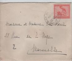 00689a Congo Belge Courrier De Haute Mer Paquebot Léopoldville V. Marcinelle