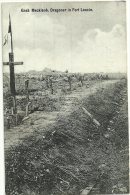 CPA / Grab Mecklinburger Dragoner / Fort Loucin - War 1914-18