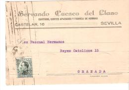 Tarjeta Postal Direccion Granada. - 1931-Today: 2nd Rep - ... Juan Carlos I