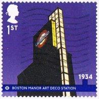 GB 2013 London Underground 1st Self Adhesive Good/fine Used [22/19990/ND] - Used Stamps