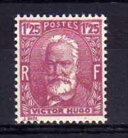 France - 1933 - 1f 25 Victor Hugo  - MH - France