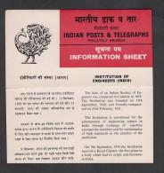 INDIA 1980 India Institution Of Engineers , Folder - India