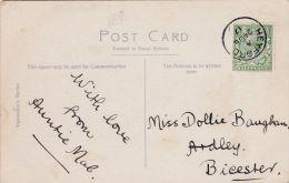POSTAL HISTORY -1917 SINGLE CIRCLE  CANCELLATION -HEYFORD - Poststempel