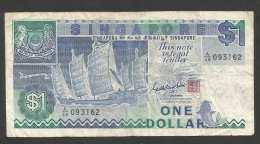 [NC] SINGAPORE - 1 DOLLAR (SHA CHUAN) - Singapore