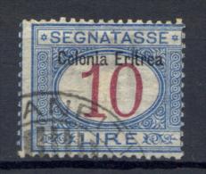 Eritrea 1903 Segnatasse Sass.S11 Usato/Used VF/F - Eritrea