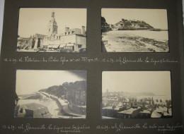 Juin 1939, Villedieu, Granville, St Pair S/Mer - 8 Petites Photos Originales - 3 Scans - Places
