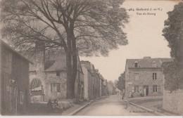 GAHARD   ( I. Et V. )   -  Vue  Du  Bourg  -  Café  -  Charrette  -  Personnages Devant Café. - Frankrijk