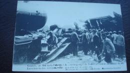 CONTICH 21 MAI 1908 - Terrible Accident De Chemin De Fer : La Recherchedes Victimes - Catastrophes