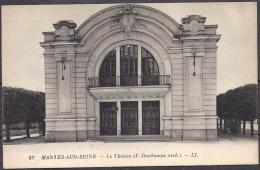 Cpa Mantes Sur Seine, Le Théâtre - Mantes La Ville