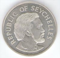 SEYCHELLES 25 RUPEES 1977 AG SILVER JUBILEE - Seychelles