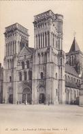 La Facade de l'Abbaye aux Dames Caen France