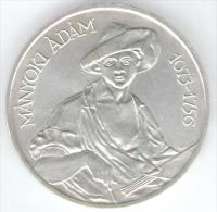 UNGHERIA 200 FORINT 1977 AG SILVER MANYOKI ADAM - Ungheria