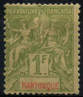 Martinique (1892) N 43 * (charniere)