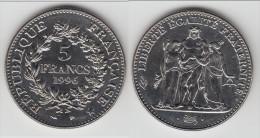 SPLENDIDE ****  5 FRANCS HERCULE 1996 NON CIRCULEE **** EN ACHAT IMMEDIAT !!! - J. 5 Francs
