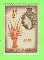 TIMBRES, TRISTAN DA CUNHA - TRISTAN CRAWFISH - 1/2 D. - TIMBRE NEUF - - Tristan Da Cunha