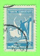 TIMBRES, TURQUIE - TURKIYE CUMMURIYETI - MILLI - OBLITÉRÉ - - Autres