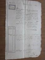 RARE 1828 Lettera Di Vettura + Fiscale G.D. Negoziante In Torino Italie Italia G. Bresso - Brés  Nizza Nice France - Italia
