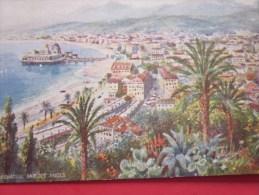 Nice Vue Prise Du Mont Boron Carte Postale Illustrateur Signé Oilette --Tuck Raphaël - Tuck, Raphael