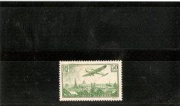 FRANCE POSTE AERIENNE N° 14 * RECTO VERSO Centrage Parfait Légère Trace De Charniere - 1927-1959 Mint/hinged