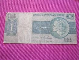 Note Bank  Banca Billet De Banque Bank De Italie Banco   Centrale Do Brasil  Brésil - Brasil