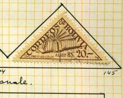 Bolivie 1952 Y&T PA 145 ° - Bolivie