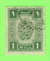 TIMBRES, EGYPTE - 1 MILL - OBLITÉRÉ - - Service