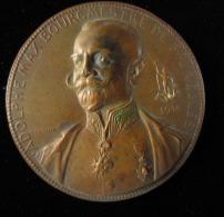 M01575 Adolphe Max, Bourgmestre De Bruxelles 1914 Et Coq Par Devreese Au Revers (100 G.) - Other