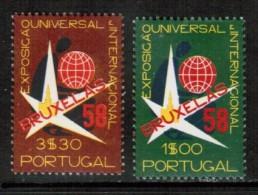 PORTUGAL     Scott # 830-1*  VF MINT LH - 1910-... Republic