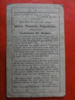 Doodsprentje, Pieux Souvenir  Geboren Zemst 1813, Overleden 1899 - Devotion Images