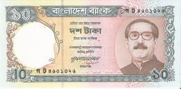BILLETE DE BANGLADESH DE 10 TAKA DEL AÑO 1996  (BANKNOTE) SIN CIRCULAR-UNCIRCULATED - Bangladesh
