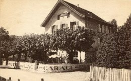 CPA 38 CHARAVINES LES BAINS HOTEL DU LAC - Charavines