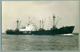 "Svedel Line ""Balkan"" Real Photo Postcard (A-9) - Steamers"