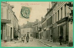 Aix En Othe - Aube -  Rue  Des Vannes    - Animé - Troyes