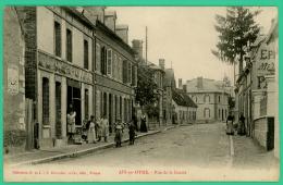 Aix En Othe - Aube -  Rue  De La Gaieté    - Animé - Troyes